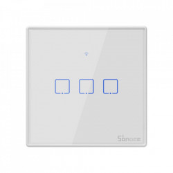 Smart Switch WiFi + RF 433 Sonoff T2 EU TX (3 canale)