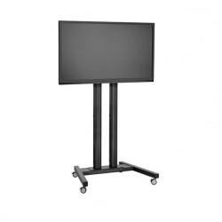 Stand TV podea mobil Vogels TD1544 / TD1844 / TD2044 Black max. 160 kg