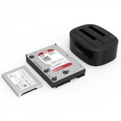 Statie de andocare ORICO USB3.0 pentru HDD 2,5/3,5 inch - functie de clonare