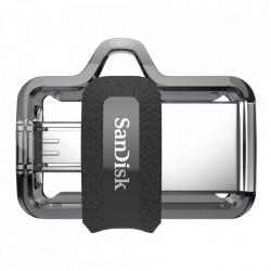Stick de memorie SanDisk Ultra Dual Drive OTG micro-USB/USB 3.0 150 MB/s - 16 GB