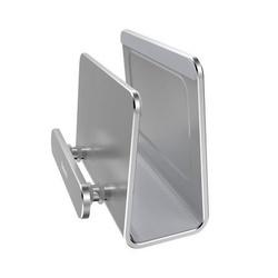 Suport de perete pentru telefon , Baseus , silver