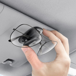 Suport ochelari auto Baseus - negru