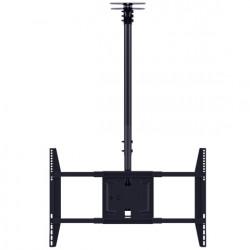 "Suport tv tavan LCD/LED Single 1500 Multibrackets 5484,42-70"", negru,inaltime reglabila:min.832 - max.3000 mm, max.80kg."