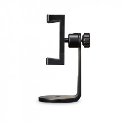 Suport universal Pivo Smart Mount pentru telefoane, Compatibil cu Trepied, SelfieStick cu filet de 1/4 inch, ajustabil 360, Negru
