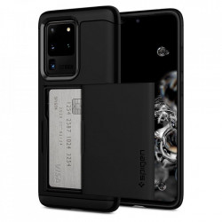Husa Spigen Slim Armor CS Samsung Galaxy S20 Ultra - negru