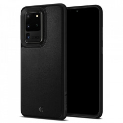 Husa Spigen Ciel piele Samsung Galaxy S20 Ultra - negru