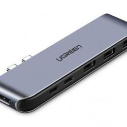 Adaptor UGREEN 6in1 pentru seria Apple MacBook Pro