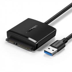 "Adaptor UGREEN HDD 2.5"" & 3.5"" SATA la USB 3.0 (black)"