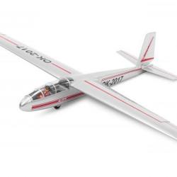 Aeromodel Black Horse BH138 L-13 plan alunecător 2700mm
