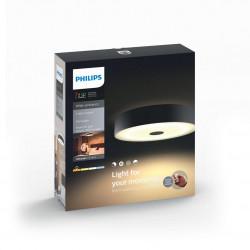 Aplica LED integrat Philips HUE Fair, 39W, 3000 lm, lumina alba reglabila calda-rece, Intrerupator inclus