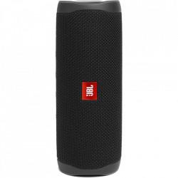 Boxa portabila JBL FLIP5, Bluetooth, PartyBoost, USB C, Powerbank 4800mAh, Rezistenta la apa IPX7, Negru