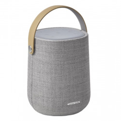Boxa smart portabila Harman Kardon Citation 200, Wi-Fi, Bluetooth, IPX4, 8H, Airplay, Chromecast, Asistent vocal, Gri