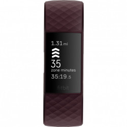Bratara fitness Fitbit Charge 4, Rosewood