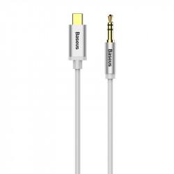 Cablu audio 3.5 mm la USB-C Baseus Yiven 1.2m , alb