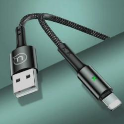 Cablu de date UGREEN USB 3.0 la USB Type-C 3A - 1m negru
