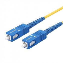 Cablu de fibra optica UGREEN SC / UPC NW131, patchcord, simplex, 3m (albastru)