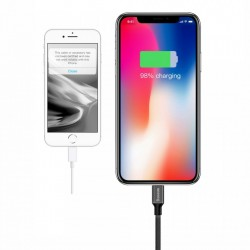 Cablu pentru incarcare Lightning, Baseus Yiven, USB-Lightning, 1,8M, negru