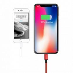 Cablu pentru incarcare Lightning, Baseus Yiven, USB-Lightning, 1,8M, rosu
