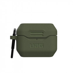 Carcasa antimicrobiana UAG Standard Issue Silicone Apple AirPods Pro Olive