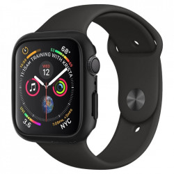 Carcasa protectoare Spigen Thin Fit Apple Watch 4 (44mm) - negru