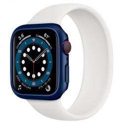 Carcasa SPIGEN THIN FIT pentru APPLE WATCH 4/5/6 / SE (44MM) ALBASTRU METALIC