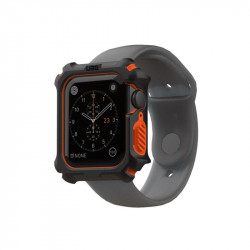 Carcasa UAG pentru Watch Case Apple Watch 5 4 44 mm Black/orange