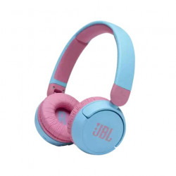 Casti audio on-ear pentru copii JBL JR310BT, Bluetooth, Albastru