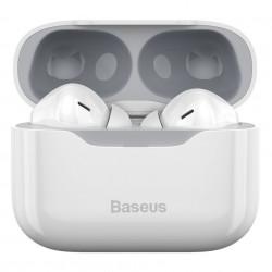 Casti Baseus S1 TWS cu ANC, Bluetooth 5.1 (alb)