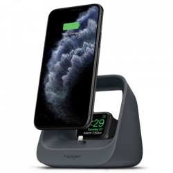 Dock incarcare Spigen 2in1, iPhone, Apple Watch - negru