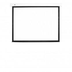 Ecran proiectie electric, perete/tavan, 232.6 x 145.4 cm, Multibrackets 5606, carcasa alba, Format 16:10