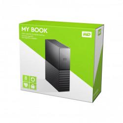 """EHDD 8TB WD 3.5"""" MY BOOK USB3.0 BK"""