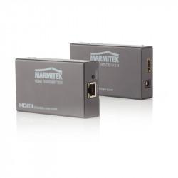 Extender HDMI Marmitek MegaView 90, printr-un cablu CAT5, pana la 120 m