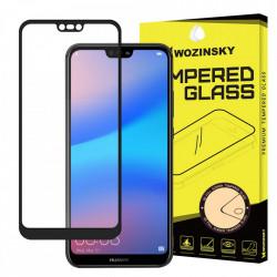 Folie protectie Wozinsky Full Glue Super Tough Screen Protector Full Coveraged with Frame Case Friendly pentru Huawei P20 Lite black