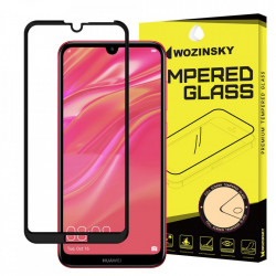 Folie protectie Wozinsky Full Glue Super Tough Screen Protector Full Coveraged with Frame Case Friendly pentru Huawei Y7 2019 / Y7 Pro 2019 / Y7 Prime 2019 black