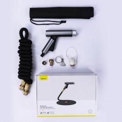 Furtun gradina + auto , extensibil 30m cu pistol pentru stropit , Baseus Simple Life Magic