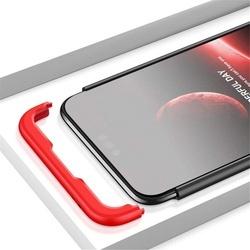 Husa 360° Matte Full Protection Gema Mixt pentru Huawei Honor 10 (fata + spate ) , negru