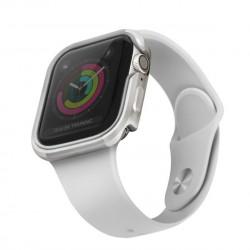 Husa de protectie UNIQ Valencia pentru Apple Watch 5/4 44mm - argintiu