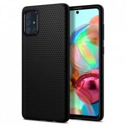 Husa Spigen Liquid Air Samsung Galaxy A71 - negru mat