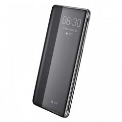 Husa telefon cu fereastra inteligenta Baseus Smart View Flip Cover pentru Huawei P30 Pro , neagra