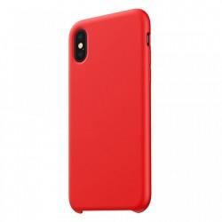 Husa telefon din silicon, Baseus Original LSR, pentru iPhone XS / X, rosu