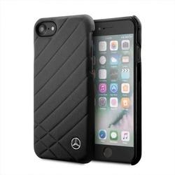 Husa telefon iPhone 7/8, Mercedes, piele, negru