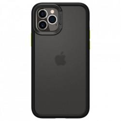 Husa telefon Spigen Cyrill Color Brick pentru iPhone 12 Pro / iPhone 12 Black