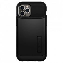 Husa telefon Spigen Slim Armor pentru iPhone 12 Pro / iPhone 12 Black