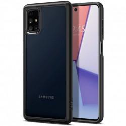 Husa telefon Spigen Ultra Hybrid pentru Samsung Galaxy M51 Matte Black