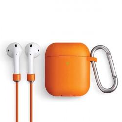 Husa UNIQ Vencer Airpods 2/1 - portocaliu