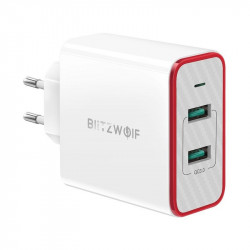 Incarcator Blitzwolf BW-PL3 2x USB QC3.0 36W