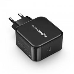 Incarcator retea USB tip C BlitzWolf BW-S10 30W , negru