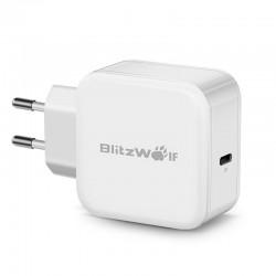 Incarcator retea USB Type-C PD BlitzWolf BW-S10 30W , alb