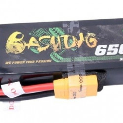 LiPo Gens Ace Bashing 6500mAh 11.1V 60C XT90 baterie