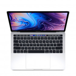 "MacBook Pro 13"" Touch Bar, 256GB SSD, Procesor 2.4GHz Quad-Core, Silver, RO KB - MV992"